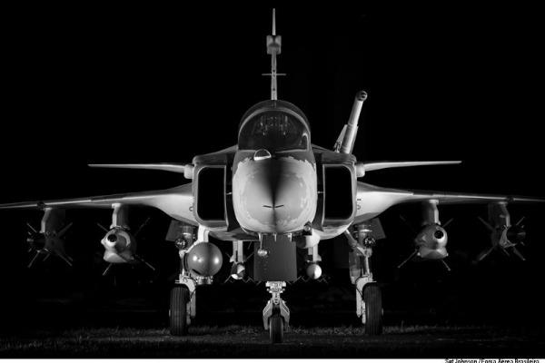 Projeto do Gripen NG tem participação brasileira  Sargento Johnson Barros / Agência Força Aérea