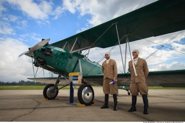 Cerimônia no RJ foi presidida pelo Comandante da Aeronáutica e contou com exposição de aeronaves