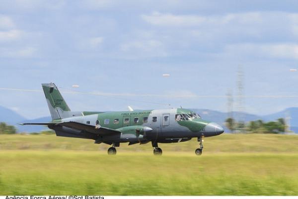Os aviões foram modernizados no Parque de Material Aeronáutico dos Afonsos no Rio de Janeiro