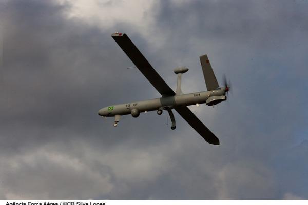 Esquadrão Hórus emprega o RQ-450  Cabo Silva Lopes/ Agência Força Aérea