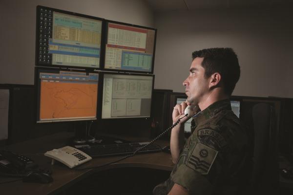 Salvero recebe sinais do sistema COSPAS / SARSAT  Sgt Bruno Batista / Agência Força Aérea
