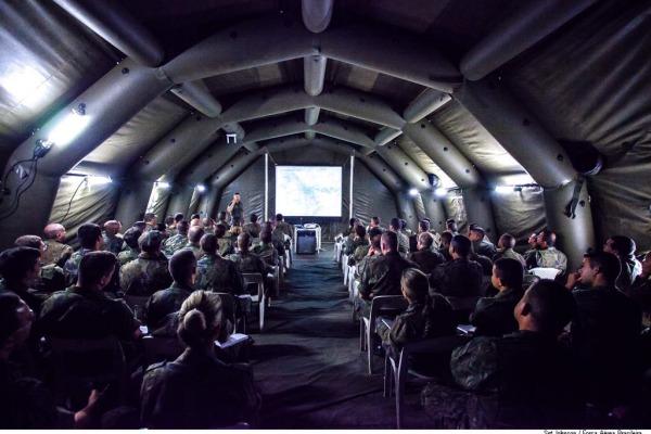 Pela primeira vez, os Estágios de Intendência e Engenharia Operacionais são realizados em conjunto na Base Aérea de Santos