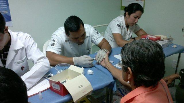 Quatro pacientes do Pronto Socorro Mário Pinotti foram transferidos para o Hospital de Aeronáutica de Belém