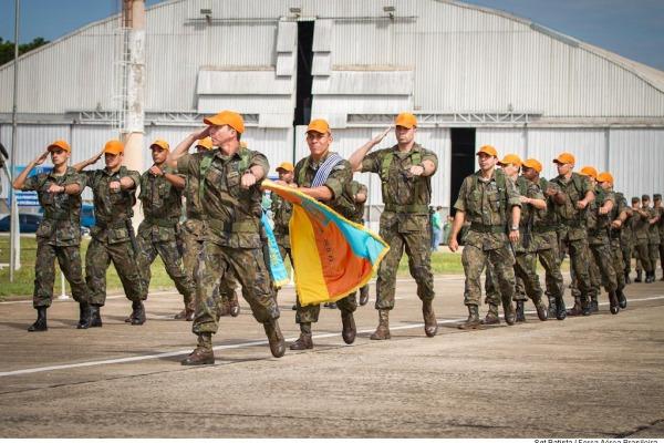 O evento foi realizado na Base Aérea de Campo Gran  Sgt Batista/CECOMSAER