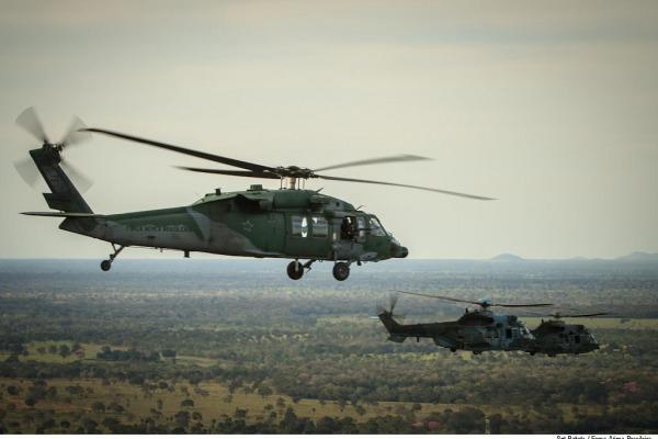 A atividade envolve mais de dez esquadrões na Base Aérea de Campo Grande