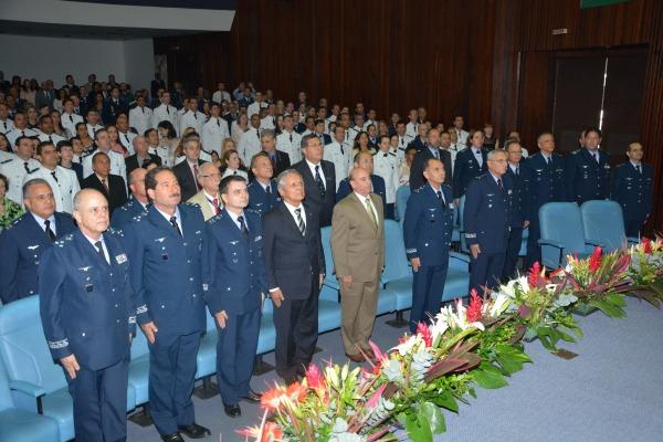 Cerimônia contou com a presença de autoridades militares  1S PONTES/EAOAR