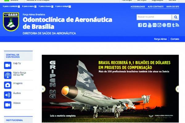Medida prevê que 66 organizações militares da FAB com sites na internet migrem para novo formato