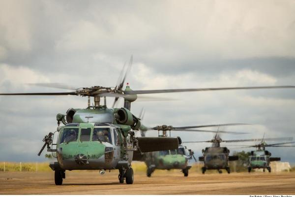 A atividade envolve cerca de 350 militares de diversas unidades de todo o Brasil
