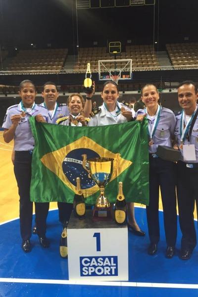 Equipe brasileira venceu campeonato pelo 2º ano consecutivo  CMMBF
