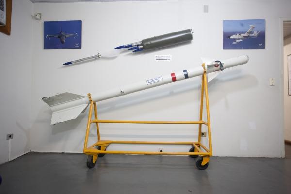 Míssil Piranha  Sargento Bruno Batista / Agência Força Aérea