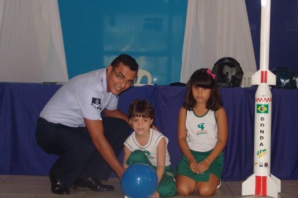 Crianças de escolas públicas e particulares participaram de inúmeras atividades