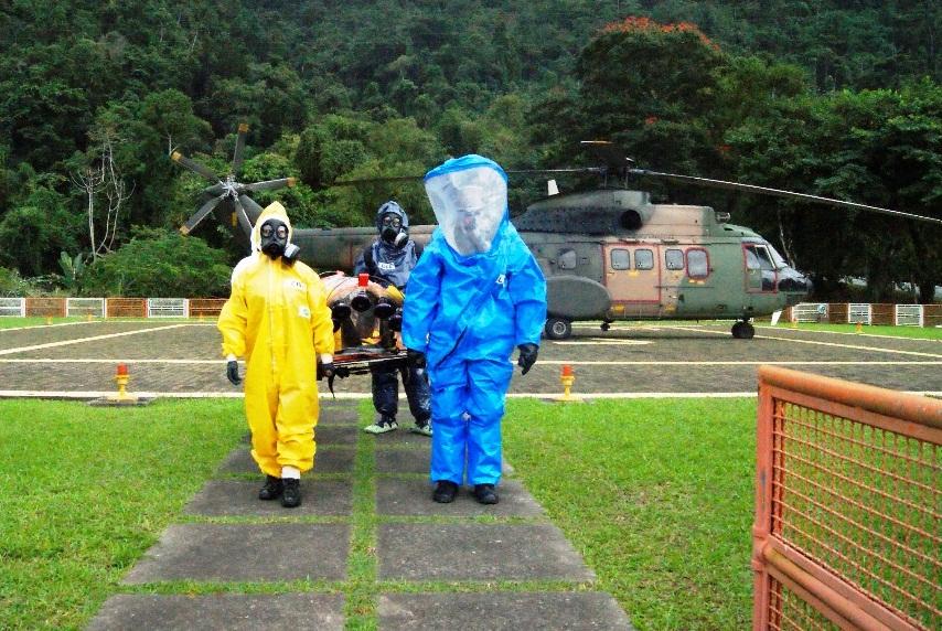 Capacitação em defesa Química, Biológica, Radiológica e Nuclear  IMAE