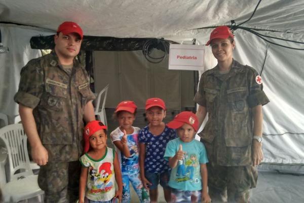 Médicos e dentistas prestaram assistência a mais de 200 pessoas em Ladário (MS)