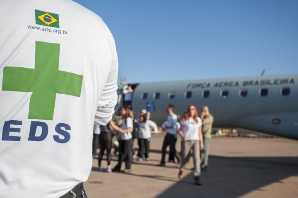 Apoio logístico é fundamental para médicos paulistas atenderem no meio da floresta amazônica