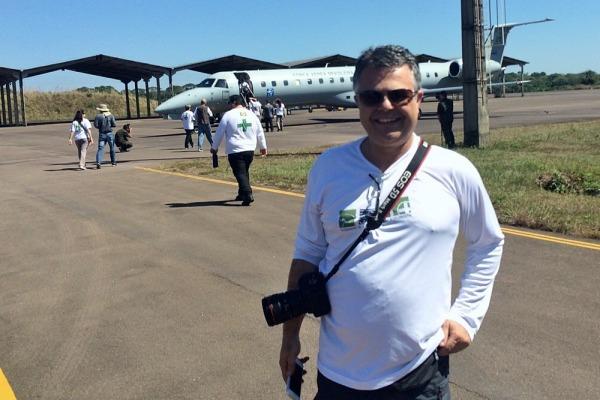 Médico Guilherme Carvalho  Cb André Feitosa / Agência Força Aérea