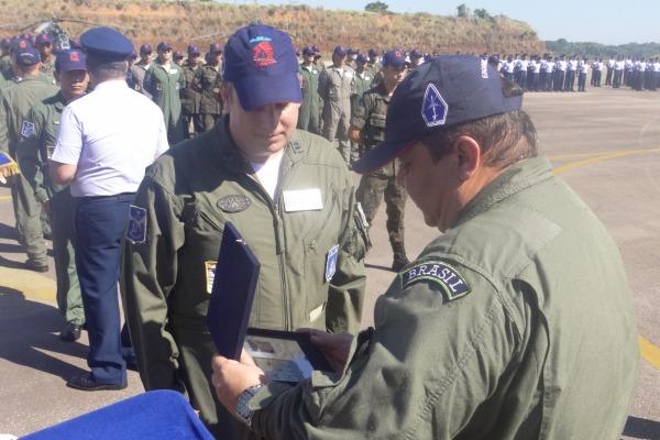 Esquadrão Poti retomou exercícios de navegação entre obstáculos e combate aéreo