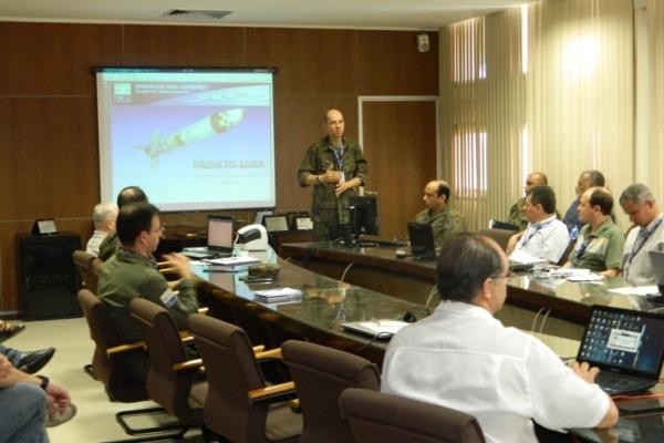 Operação de lançamento de foguete de sondagem e plataforma espacial ocorre em outubro