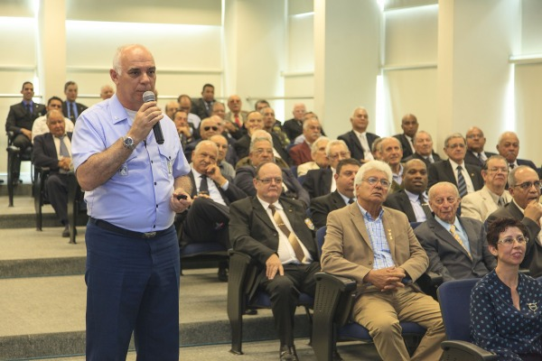 Palestra para veteranos  Sgt Bruno Batista / Agência Força Aérea