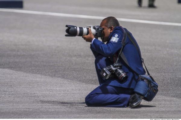 Em depoimento, Sargento Rezende conta um pouco da sua experiência e da sua paixão pela fotografia