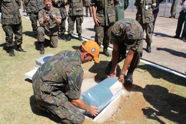Objeto será aberto no centenário da Base Aérea Campo Grande daqui a 29 anos