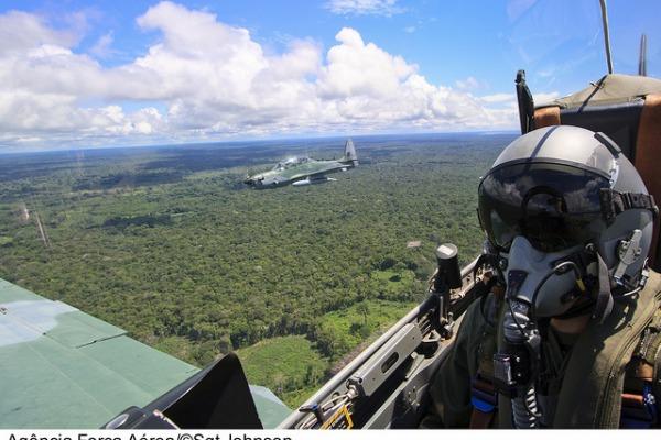 Aviões A-29 Super Tucano são do Esquadrão Grifo  Sgt Johnson/Agência Força Aérea