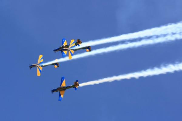 Evento celebra os aniversários do aeroclube e da cidade de Pirassununga