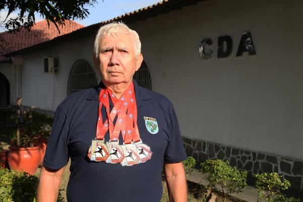 Competição realizada no interior de São Paulo reuniu 300 atletas veteranos