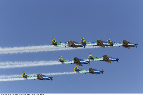 Desfile inicia às 8h45min no Eixo Monumental; demonstração aérea será após o desfile das tropas