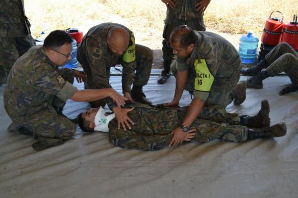 Os militares tiveram diversas instruções  Cabo Murilo/ CINDACTA I