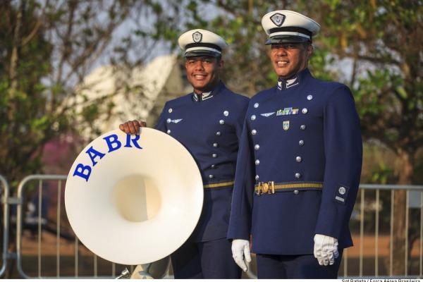 Conheça alguns dos militares que representaram a Força Aérea no desfile e um pouco dos preparativos