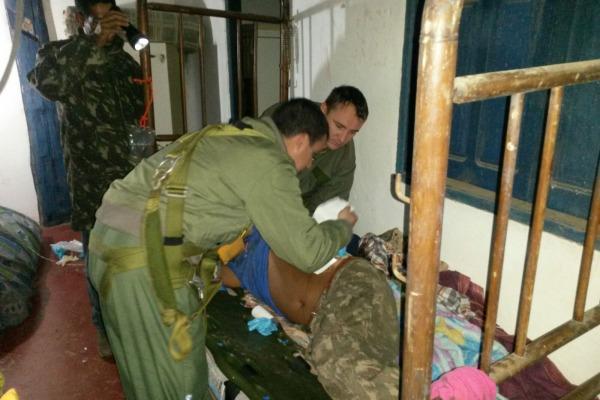 Atendimento vítima pisada de búfalo  Sgt Prates - 2°/10° GAV