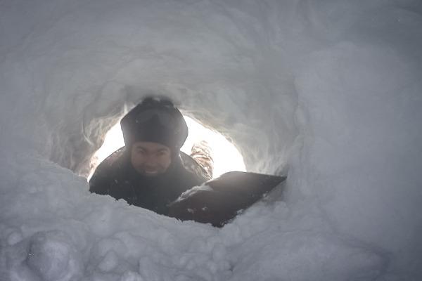 Exercício faz parte da preparação dos tripulantes que realizam voos para a Antártida