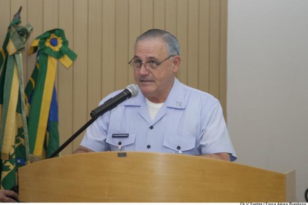 Tenente Brigadeiro Franciscangelis na abertura do evento  Cabo V. Santos/CECOMSAER
