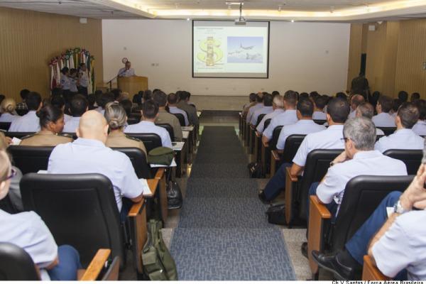 Abertura do I Seminário de Custos do COMAER  Cabo V. Santos/CECOMSAER