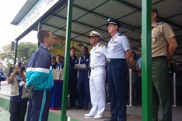 Em 2016,  competição será realizada no Colégio Naval, em Angra do Reis (RJ)
