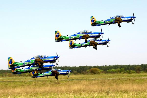 Curso avançado de demonstração aérea envolveu 80 missões ao longo de seis meses