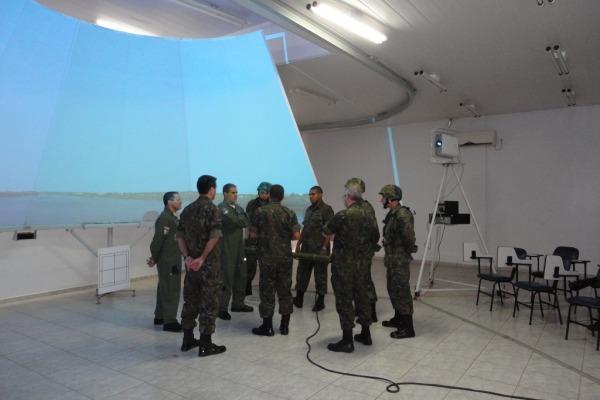 Os militares se quaficaram para atuar em missões de defesa antiaérea