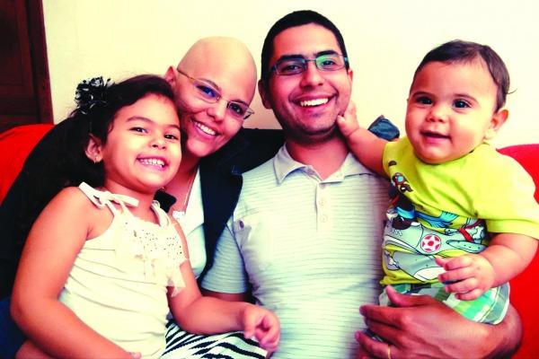 Conheça a história da Sargento Fernanda Morgado que descobriu a doença enquanto estava grávida