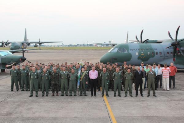 Unidade opera aeronave C-105 Amazonas  e C-98 Caravan em missões de transporte no Pantanal