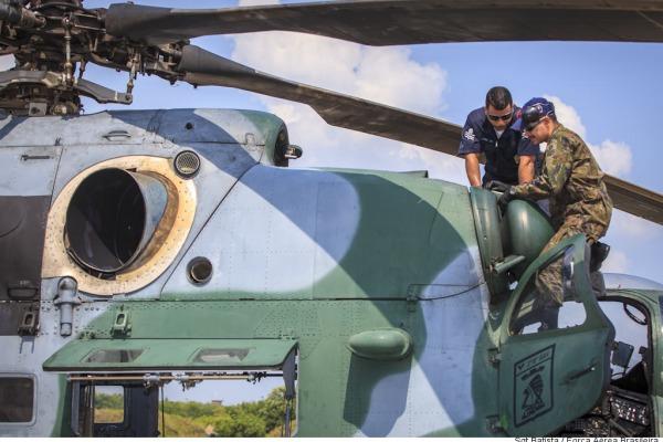 Todo o esquadrão se envolve na missão  Sargento Batista/Cecomsaer