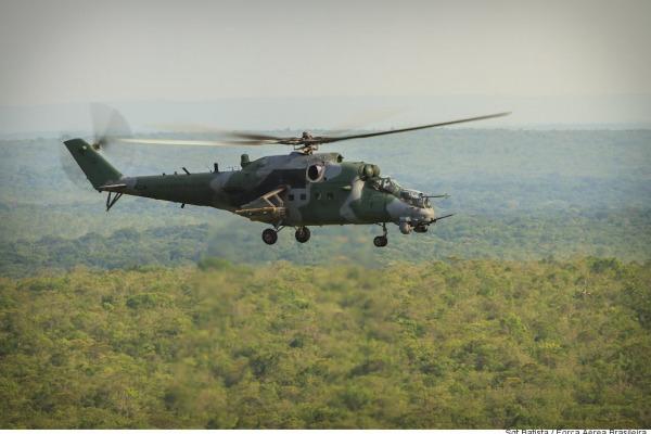 Lançamentos foram realizados durante exercício operacional no sul do Pará