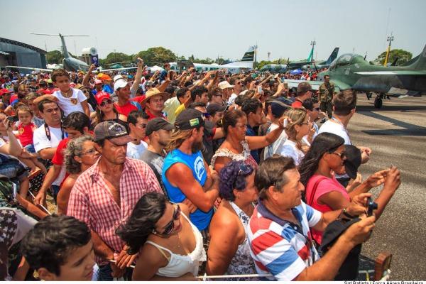 Mais de mil pessoas foram atendidadas pelos profissionais da saúde da FAB durante o evento