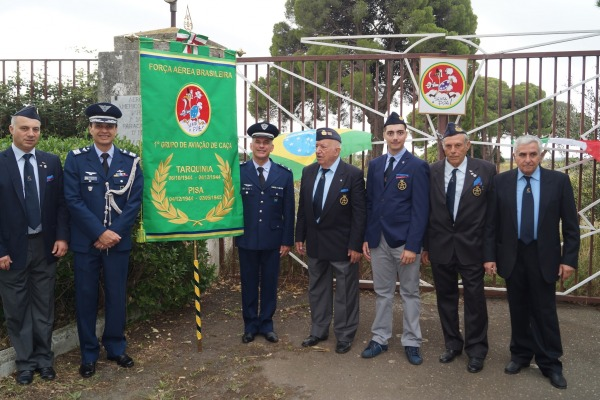 71 anos da chegada do 1º Grupo de Aviação de Caça   Adidância da Itália