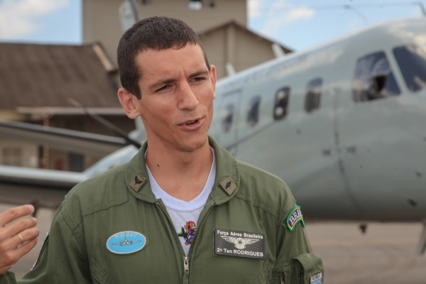 Tenente Rodrigues comenta sobre a expectativa de voar na nova aeronave  Cabo Feitosa/ Agência Força Aérea