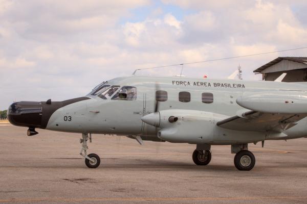 Primeiro P-95M está na Base Aérea de Natal (RN)  Cabo Feitosa/ Agência Força Aérea