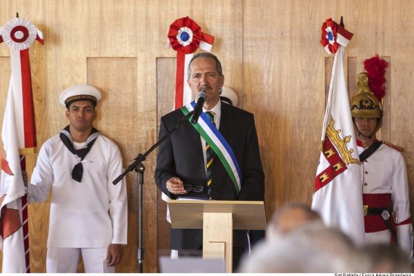 Novo ministro assumiu compromisso de valorização institucional da agenda de defesa