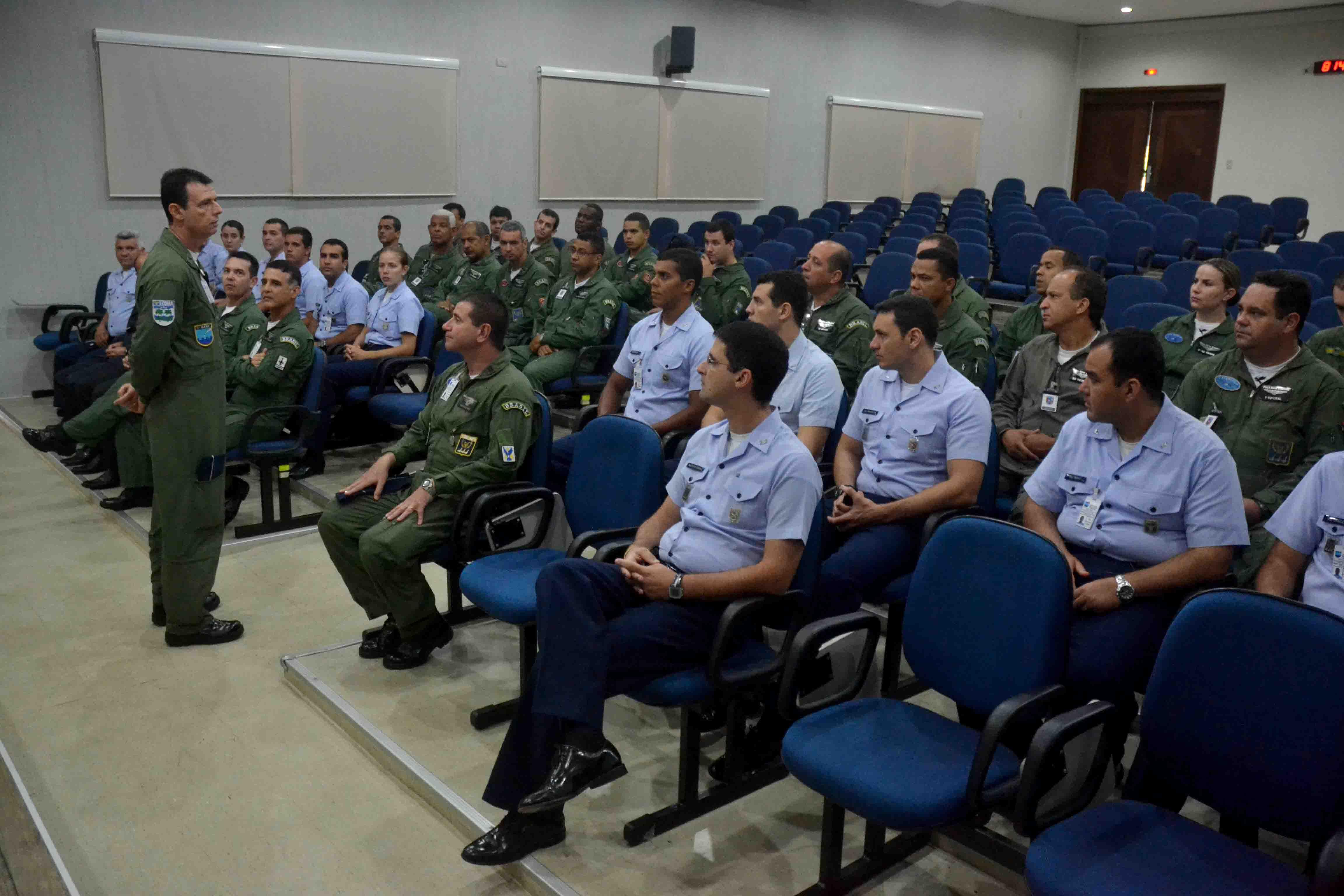 Temas relacionados à segurança de voo foram discutidos na capacitação