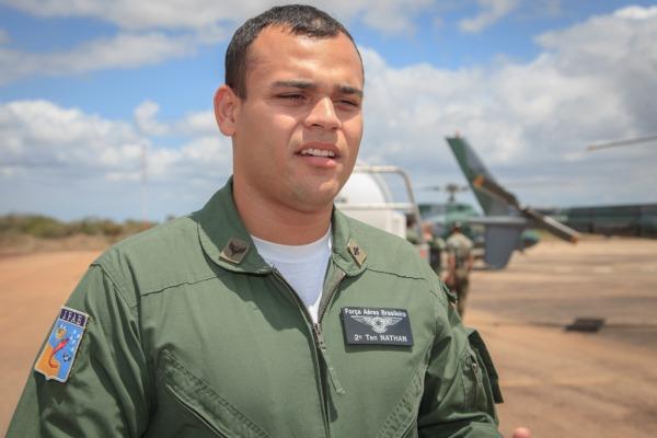 2º Tenente Nathan fala sobre expectativas da profissão  Cabo Feitosa/ CECOMSAER