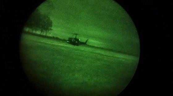 Foram realizados diversos treinamentos, como instruções terrestres e aéreas