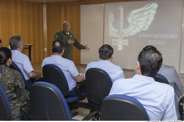 Centro de Computação de Aeronáutica de Brasília é o responsável pelo desenvolvimento do projeto